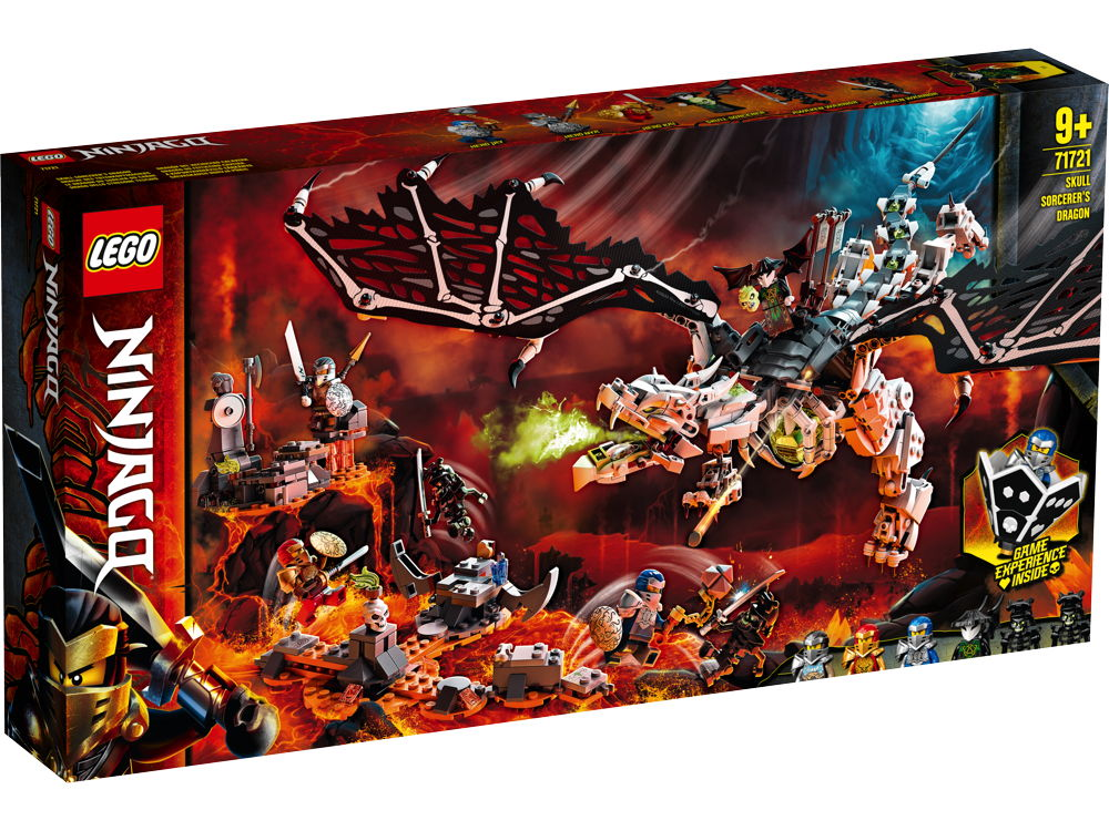 LEGO® NINJAGO Drache des Totenkopfmagiers 1016 Teile 71721
