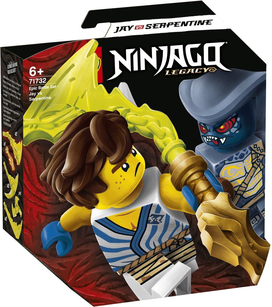 LEGO® NINJAGO Battle Set: Jay vs. Serpentine 69 Teile 71732