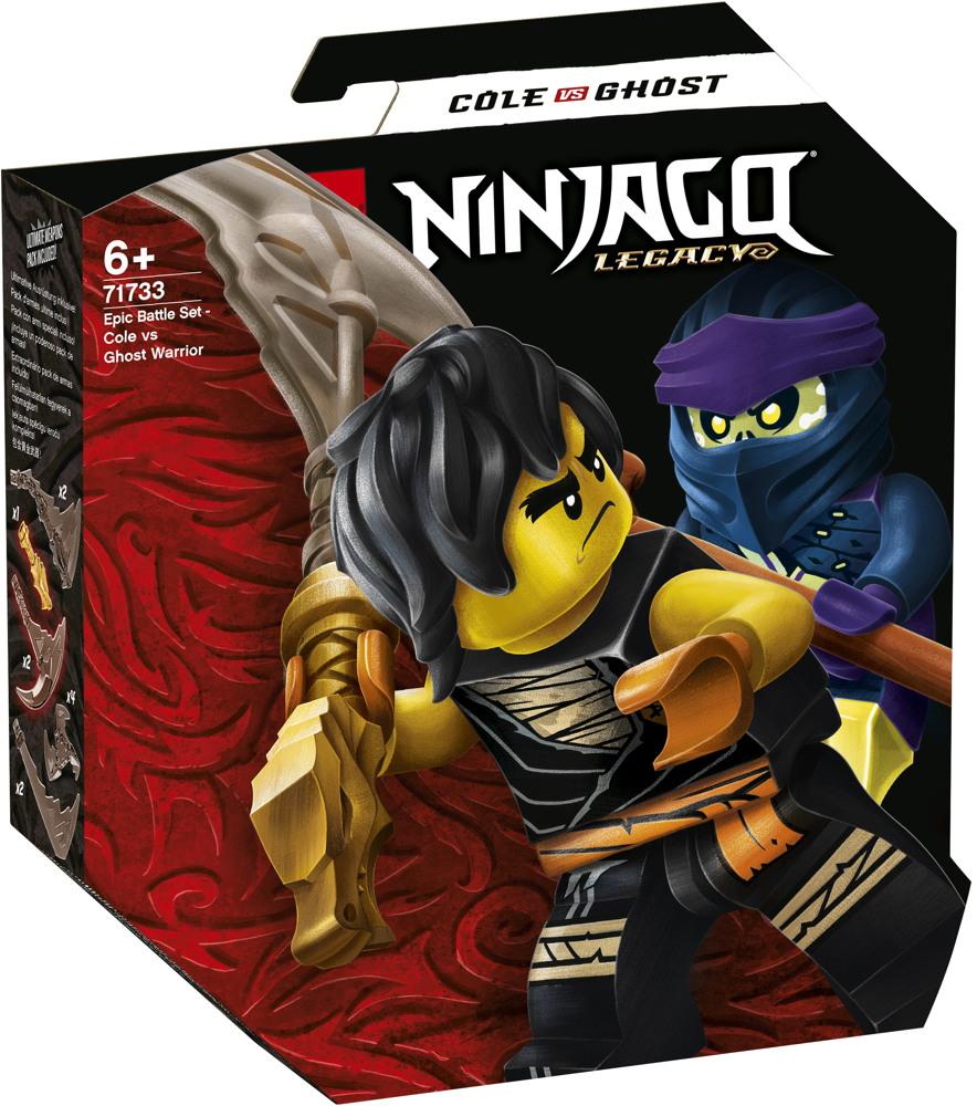 LEGO® NINJAGO Battle Set: Cole vs. Geisterkämpfer 51 Teile 71733