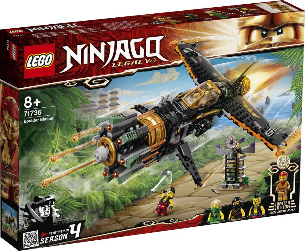 LEGO® NINJAGO Coles Felsenbrecher 449 Teile 71736