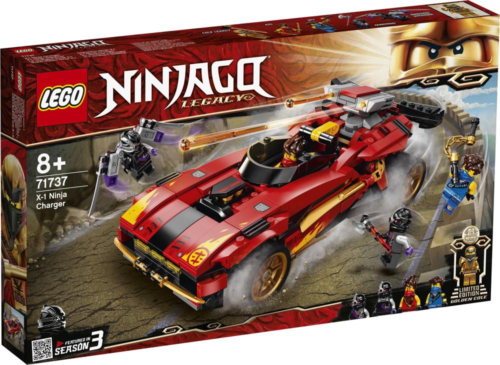LEGO® NINJAGO X-1 Ninja Supercar 599 Teile 71737