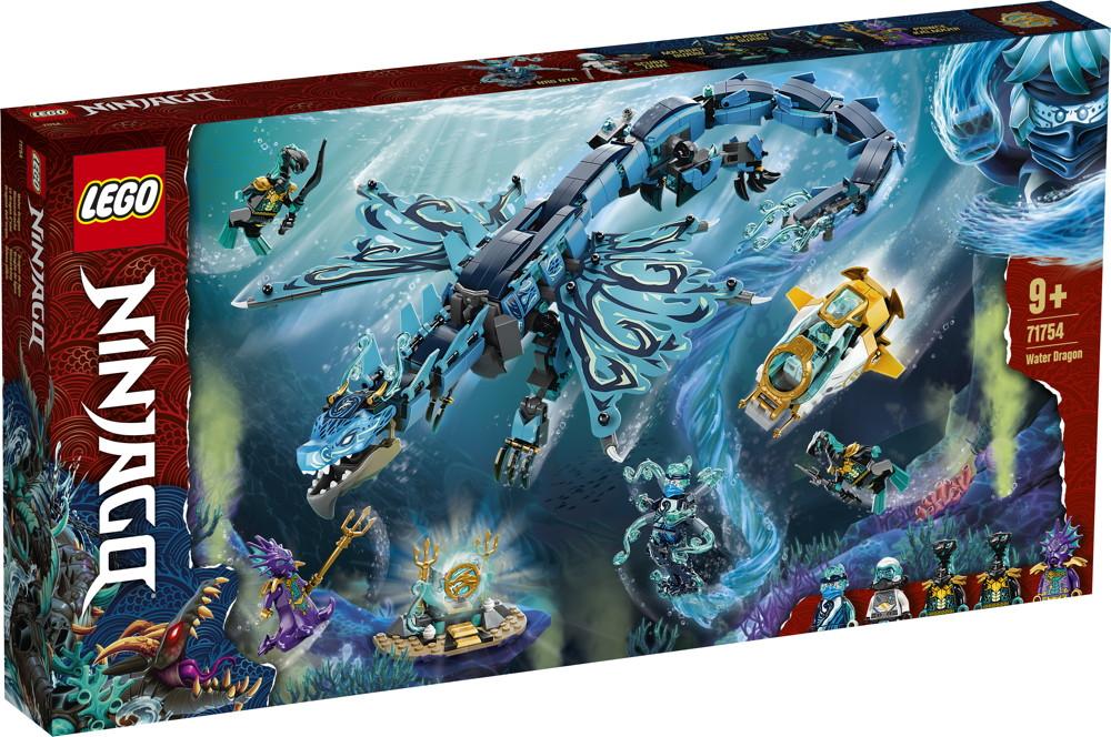 LEGO® NINJAGO Wasserdrache 737 Teile 71754