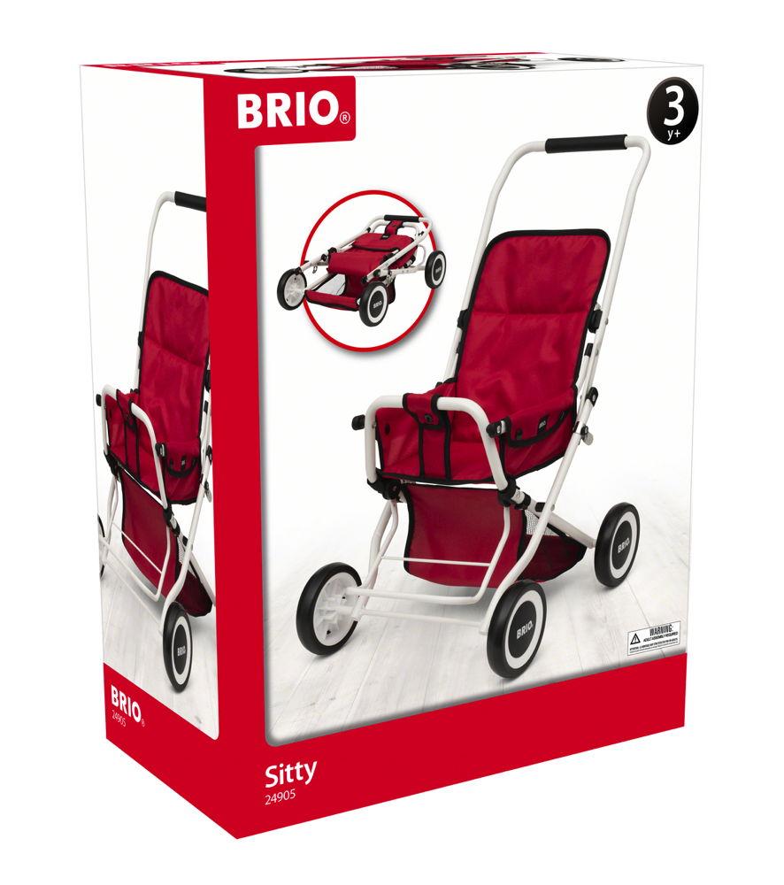 Brio Spielzeug Rollenspiel Puppenwagen Buggy Sitty 63905000