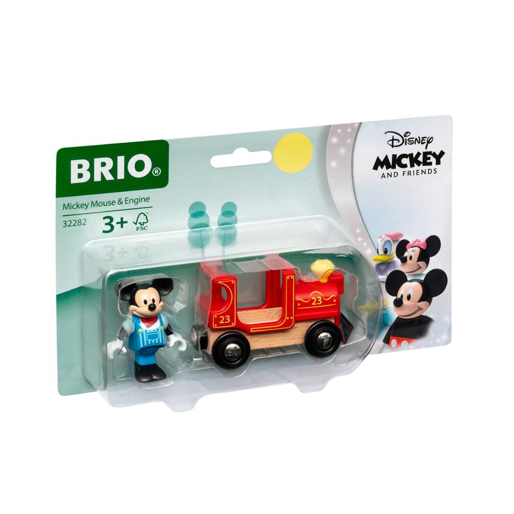 Brio World Eisenbahn Lok Micky Maus Lokomotive 2 Teile 32282