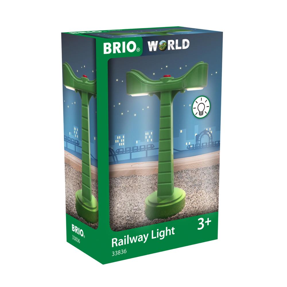 Brio World Eisenbahn Zubehör LED-Schienenbeleuchtung 33836