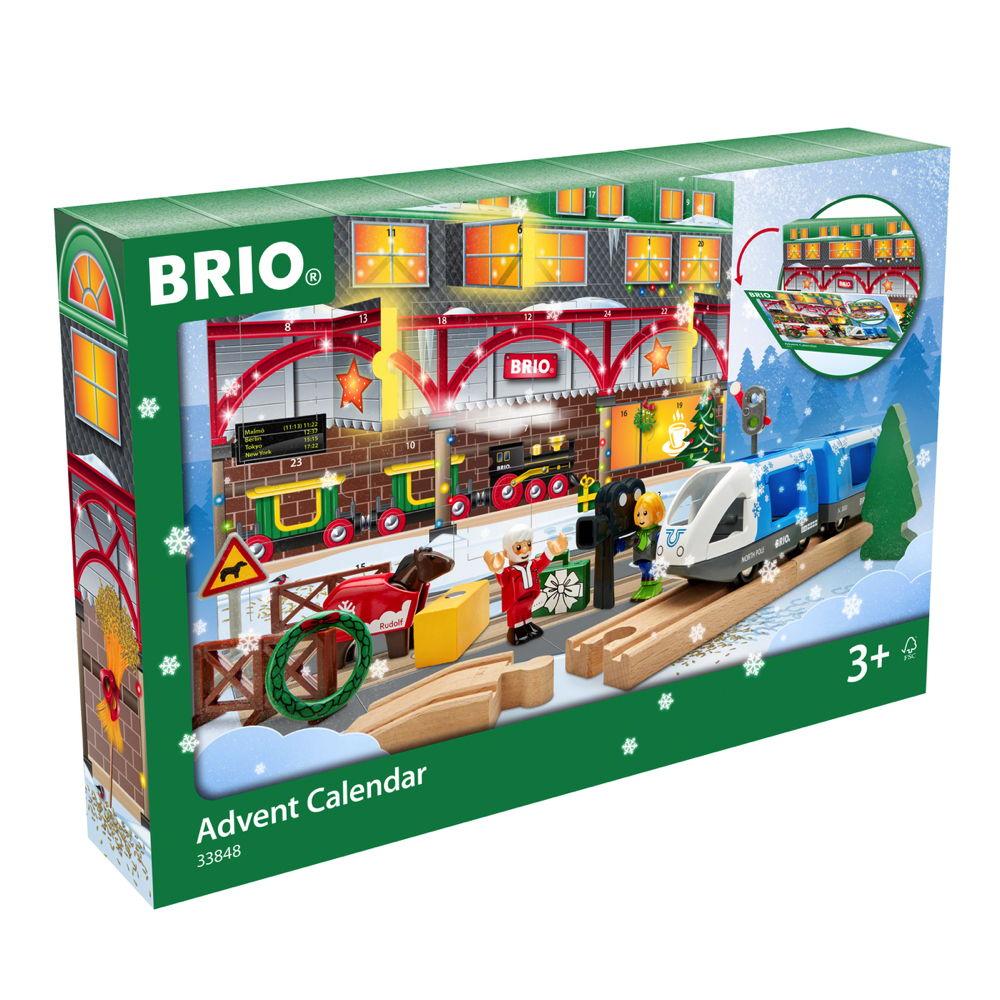 Brio World Eisenbahn Set Adventskalender 2020 24 Teile 33848