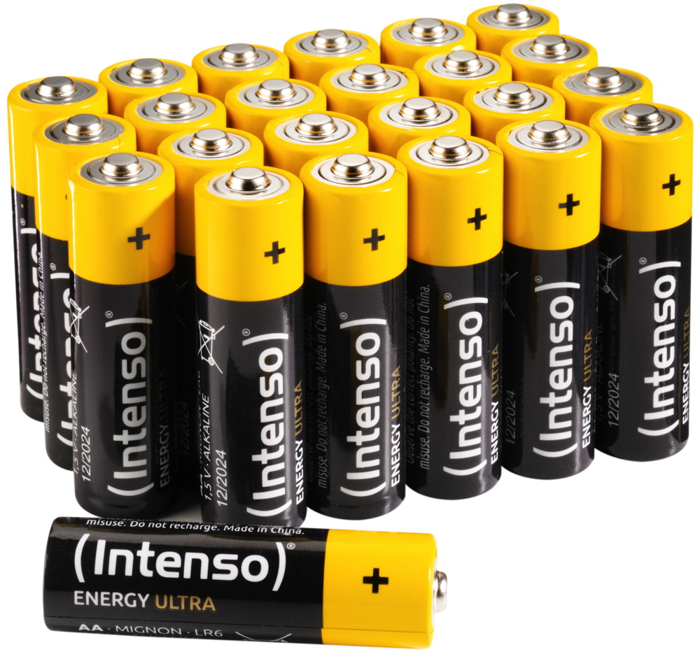 24 intenso energy ultra aa mignon alkaline batterien in. Black Bedroom Furniture Sets. Home Design Ideas