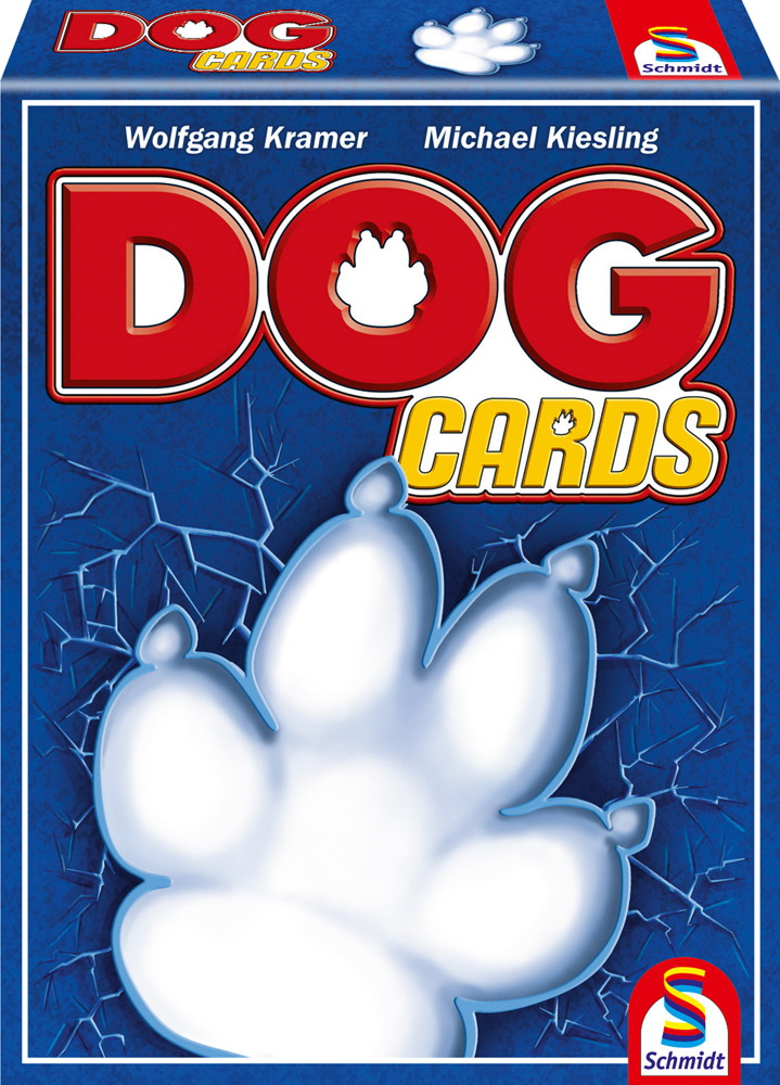 Schmidt Spiele Kartenspiel Taktikspiel DOG Cards 75019
