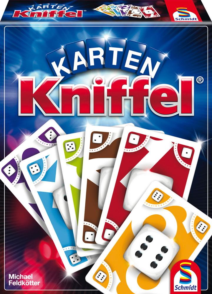 Schmidt Spiele Kartenspiel Strategiespiel Karten Kniffel 75025