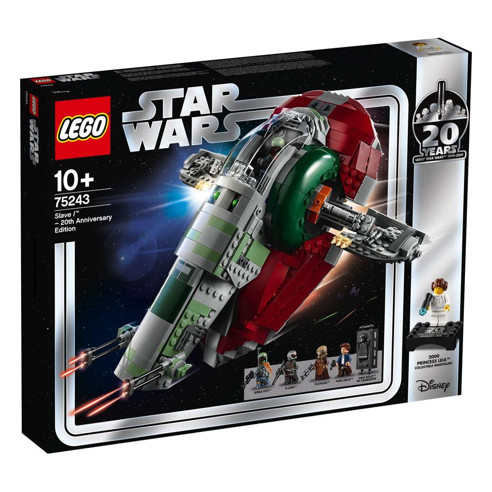 LEGO® Star Wars™ Slave I™ – 20 Jahre LEGO Star Wars 1007 Teile 75243