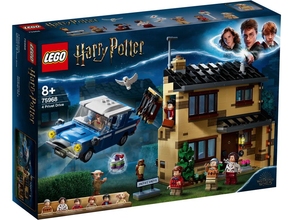 LEGO® Harry Potter™ Ligusterweg 4 797 Teile 75968