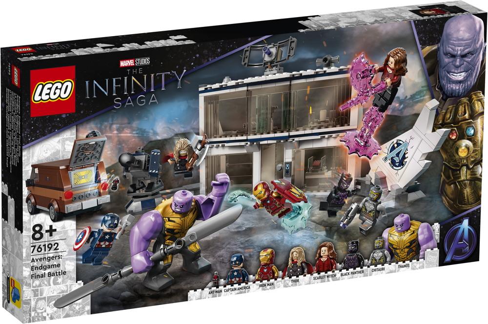 LEGO® Marvel Super Heroes™ Avengers: Endgame – Letztes Duell 527 Teile 76192