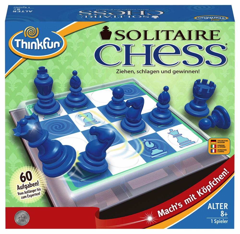 Thinkfun Familienspiel Logikspiel Solitaire Chess 76325