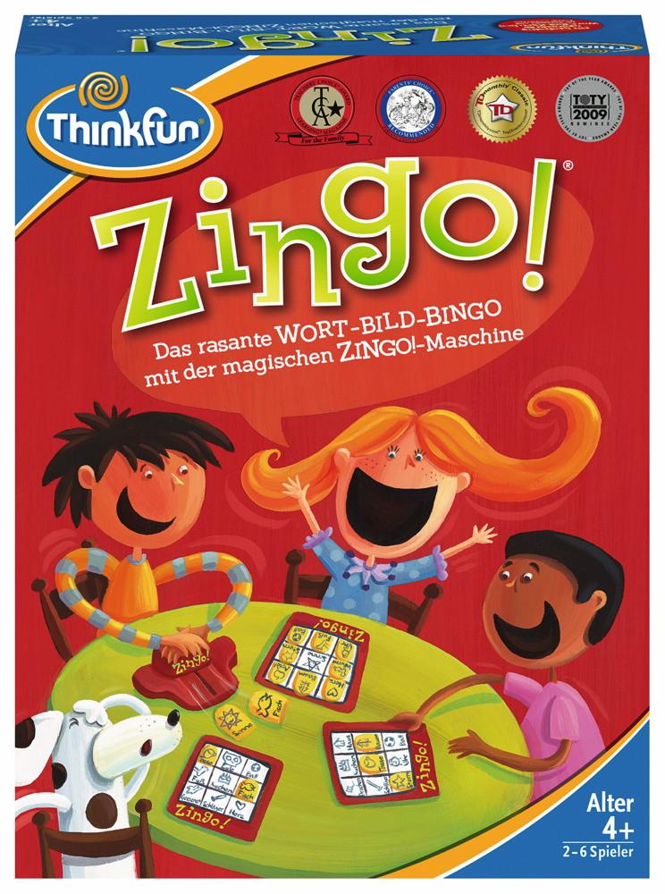 Thinkfun Kinderspiel Logikspiel Zingo! 76351