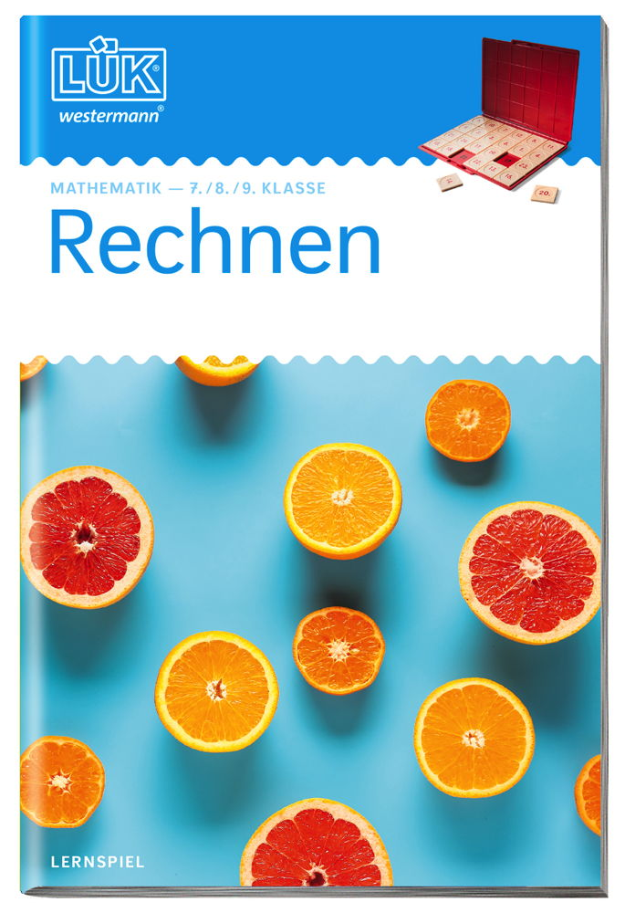 LÜK Buch Mathematik Rechnen ab 12 Jahren 0505