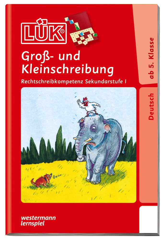 LÜK Buch Groß- und Kleinschreibung ab 10 Jahren 0888