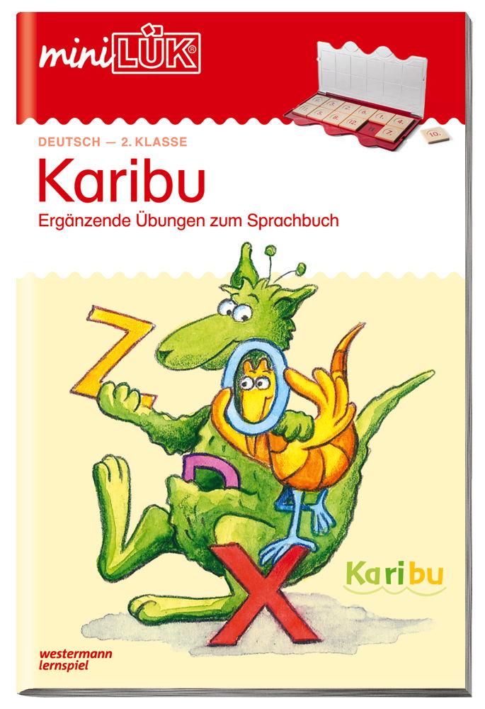 LÜK miniLÜK Buch Karibu 2 ab 7 Jahren 4148