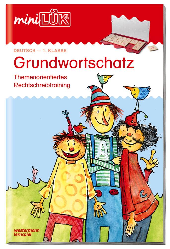 LÜK miniLÜK Buch Grundwortschatz ab 6 Jahren 4171