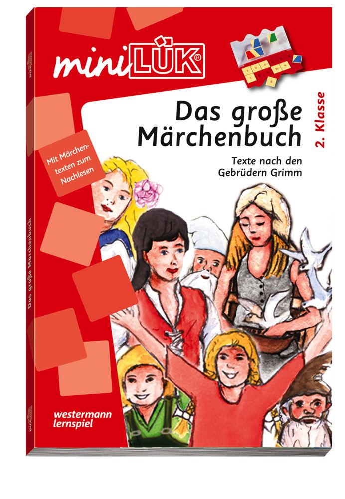 LÜK miniLÜK Buch Das große Märchenbuch ab 7 Jahren 4310