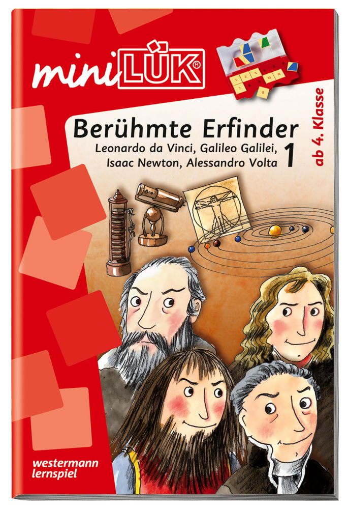 LÜK miniLÜK Buch Berühmte Erfinder 1 ab 9 Jahren 4321