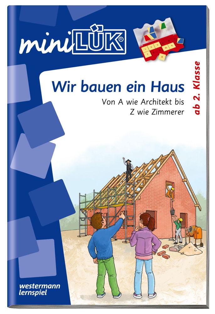LÜK miniLÜK Buch Wir bauen ein Haus ab 7 Jahren 4353
