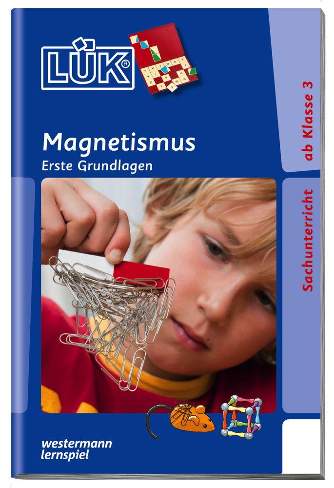 LÜK Buch Magnetismus ab 8 Jahren 4463
