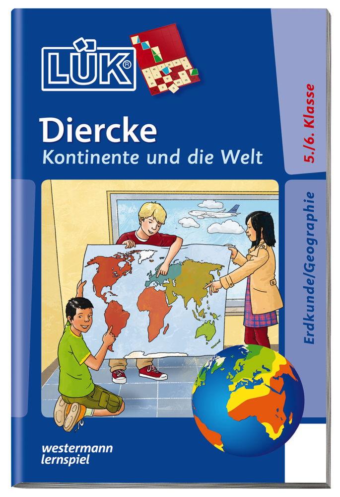 LÜK Buch Diercke - Kontinente und die Welt ab 10 Jahren 4658