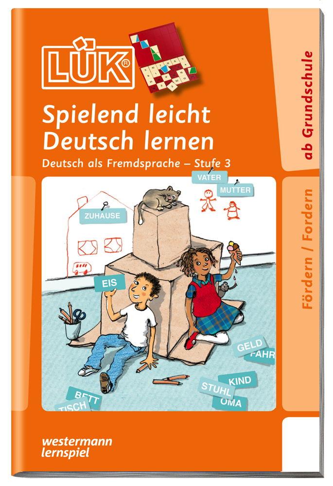 LÜK Buch Deutsch als Fremdsprache 3 ab 6 Jahren 4713