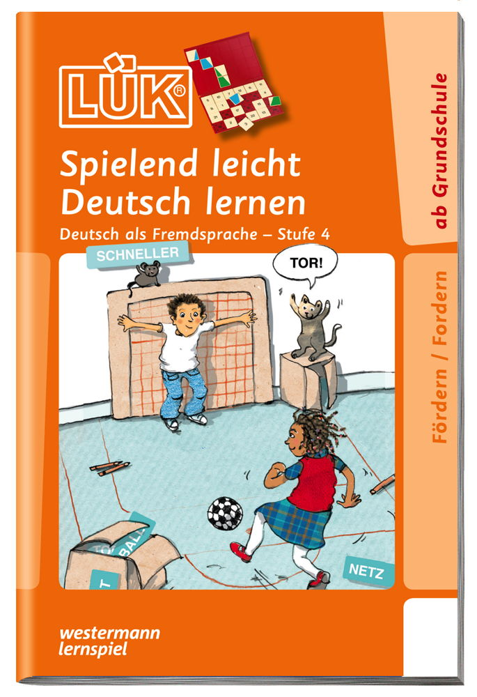 LÜK Buch Deutsch als Fremdsprache 4 ab 6 Jahren 4714
