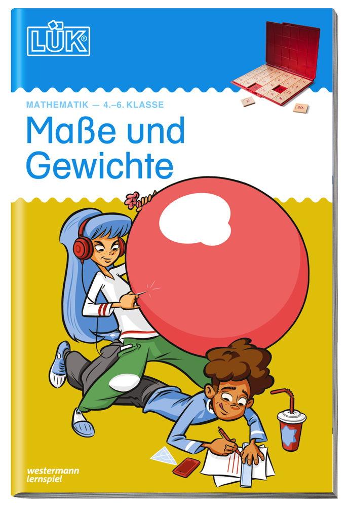 LÜK Buch Maße und Gewichte ab 9 Jahren 4956