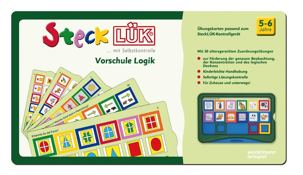 LÜK SteckLÜK Vorschule Logik 1 ab 5 Jahren 8215