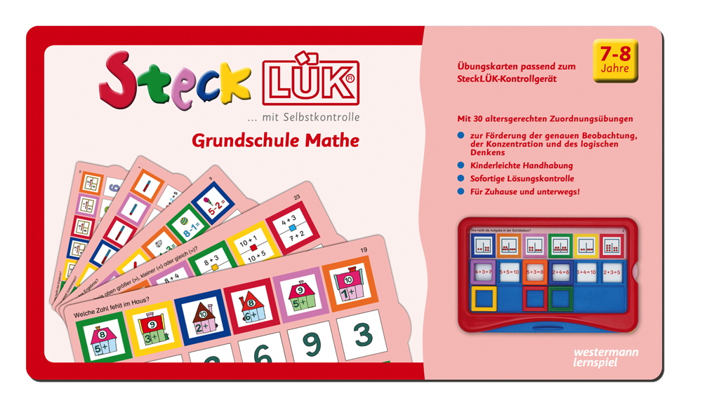 LÜK SteckLÜK Grundschule Mathe ab 7 Jahren 8223