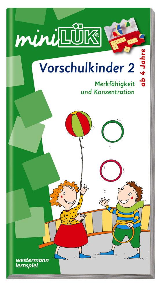 LÜK miniLÜK Buch Vorschulkinder 2 ab 4 Jahren 102
