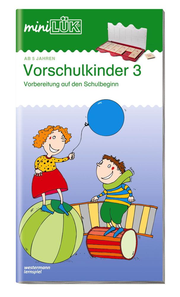LÜK miniLÜK Buch Vorschulkinder 3 ab 5 Jahren 103