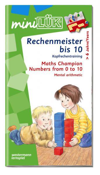 LÜK miniLÜK Buch Rechenmeister bis 10 ab 6 Jahren 236