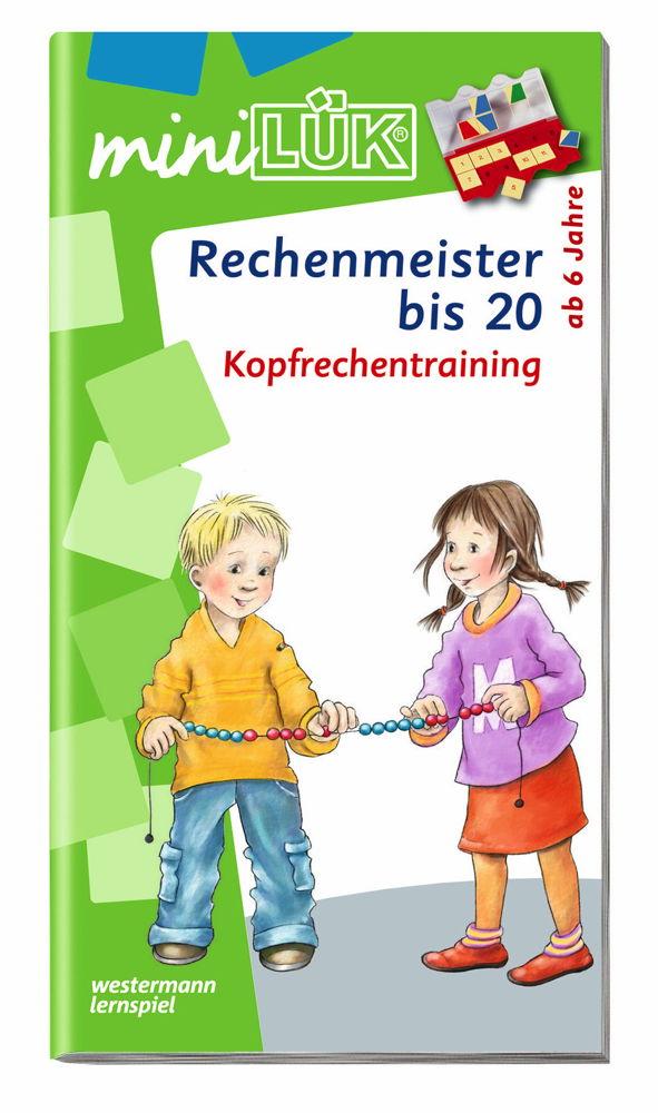 LÜK miniLÜK Buch Rechenmeister bis 20 ab 6 Jahren 237