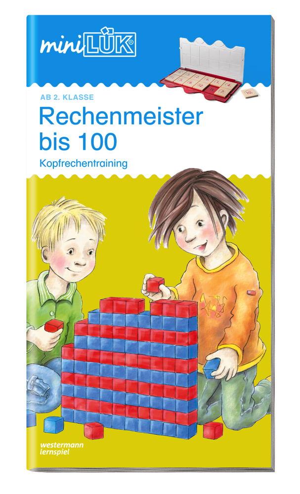 LÜK miniLÜK Buch Rechenmeister bis 100 ab 7 Jahren 238
