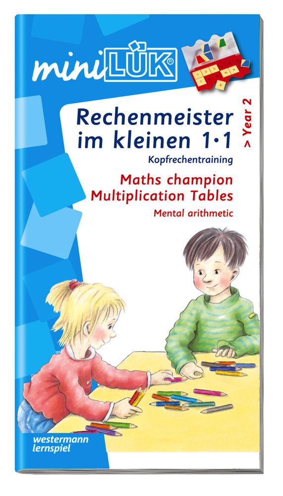 LÜK miniLÜK Buch Rechenmeister im kleinen 1x1 ab 7 Jahren 239