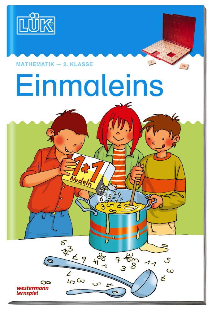 LÜK Buch Einmaleins ab 7 Jahren 506