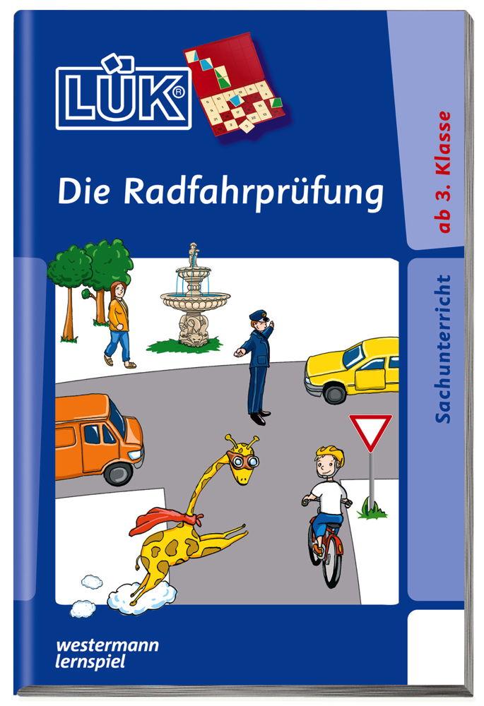 LÜK Buch Die Radfahrprüfung ab 8 Jahren 707