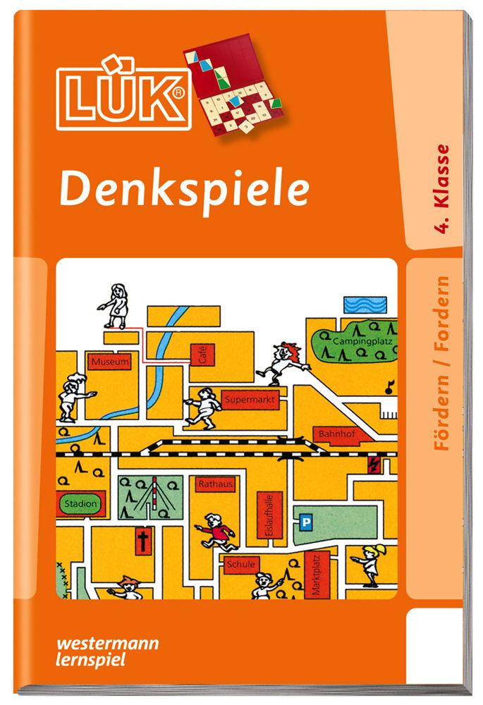LÜK Buch Denkspiele 2 ab 9 Jahren 942