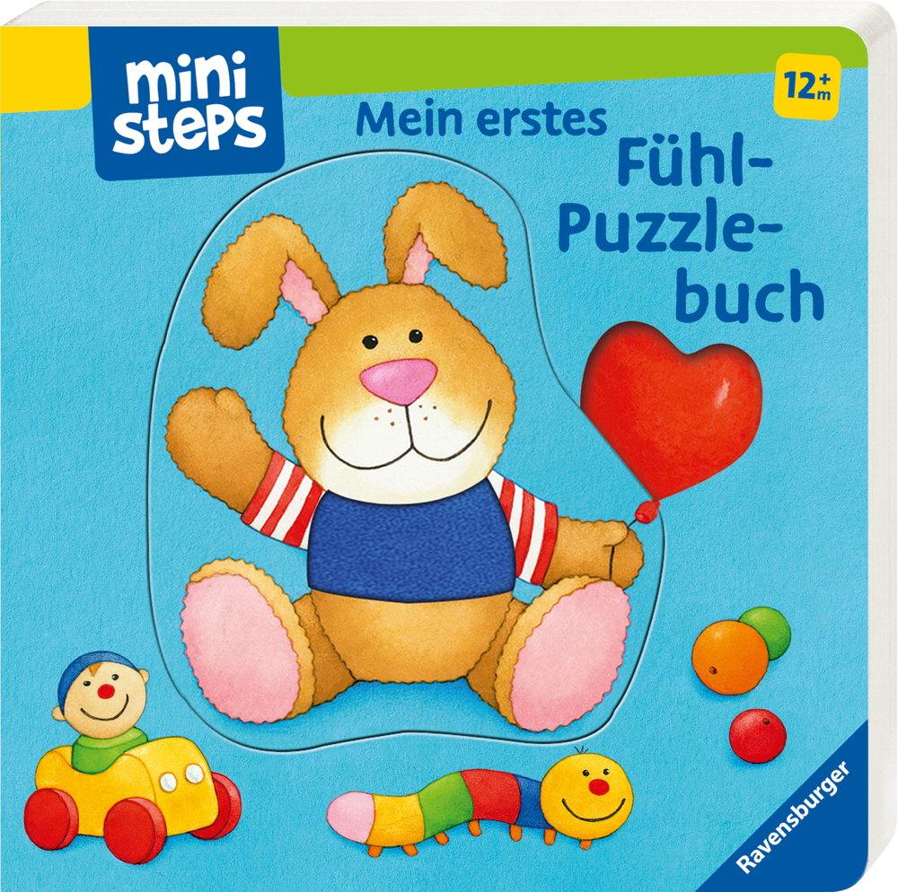 Ravensburger ministeps Buch Mein erstes Fühl-Puzzlebuch 31717