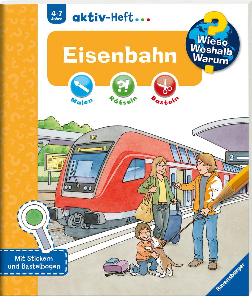 Ravensburger Buch Wieso? Weshalb? Warum? aktiv-Heft Eisenbahn 32689