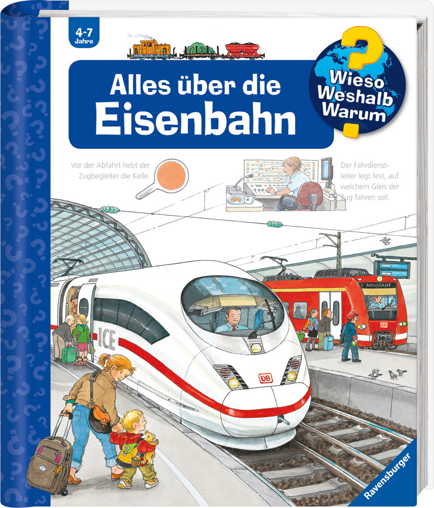 Ravensburger Buch Wieso? Weshalb? Warum? Alles über die Eisenbahn Band 8 32884