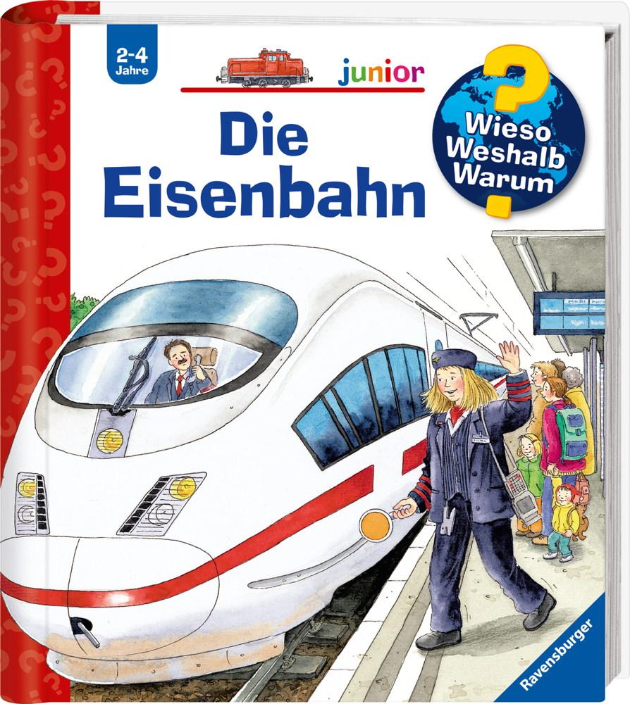 Ravensburger Buch Wieso? Weshalb? Warum? Junior Die Eisenbahn Band 9 33300
