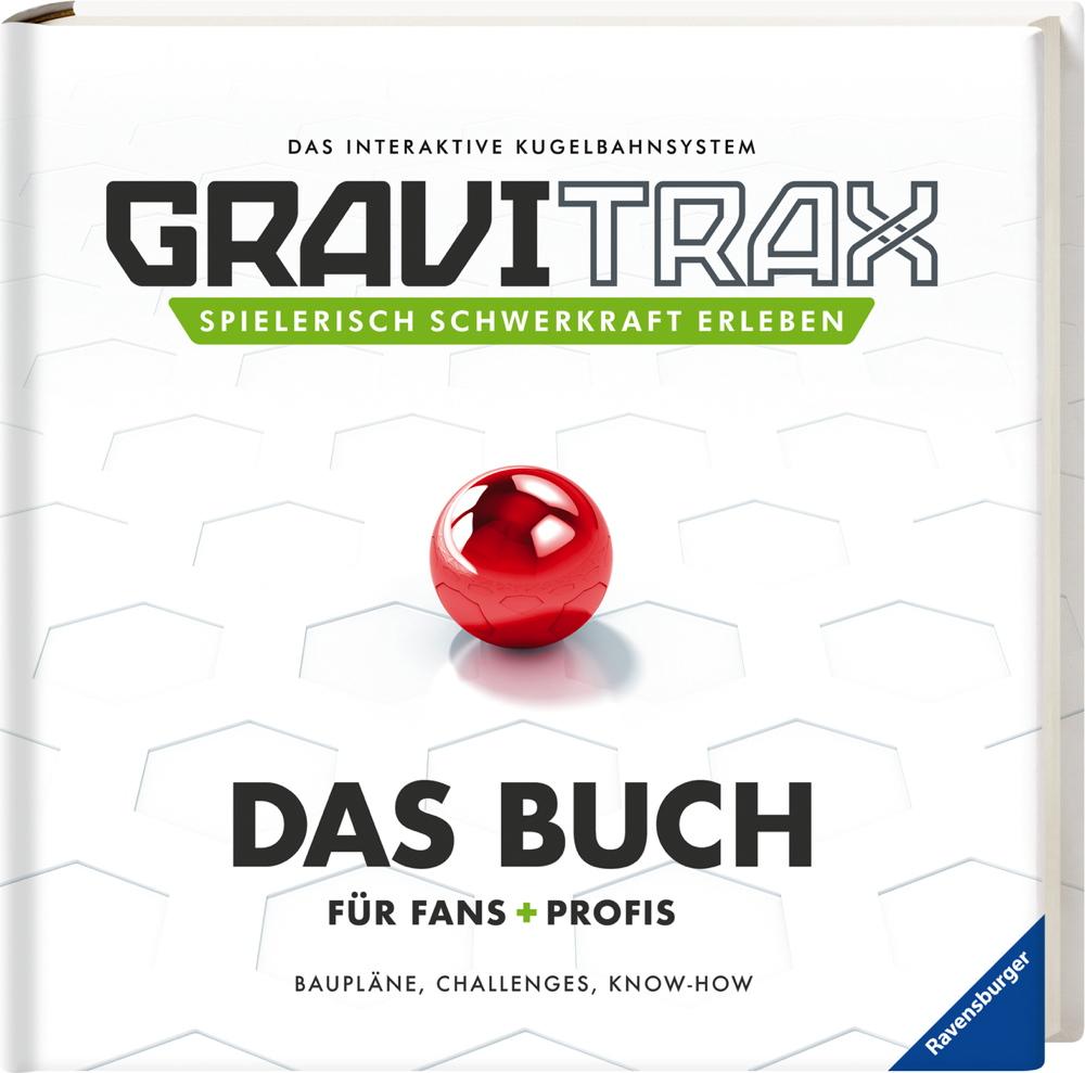 Ravensburger Brainteaser GraviTrax Buch Das Buch für Fans und Profis 41719