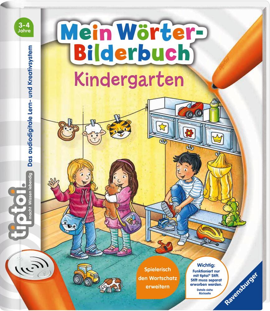 Ravensburger tiptoi Buch Mein Wörter Bilderbuch Kindergarten 55477
