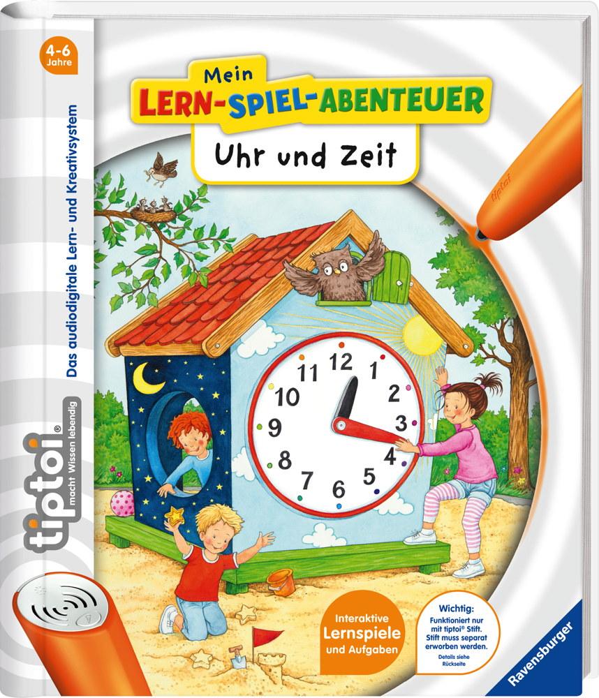 Ravensburger tiptoi Buch Mein Lern-Spiel-Abenteur Uhr und Zeit 65885