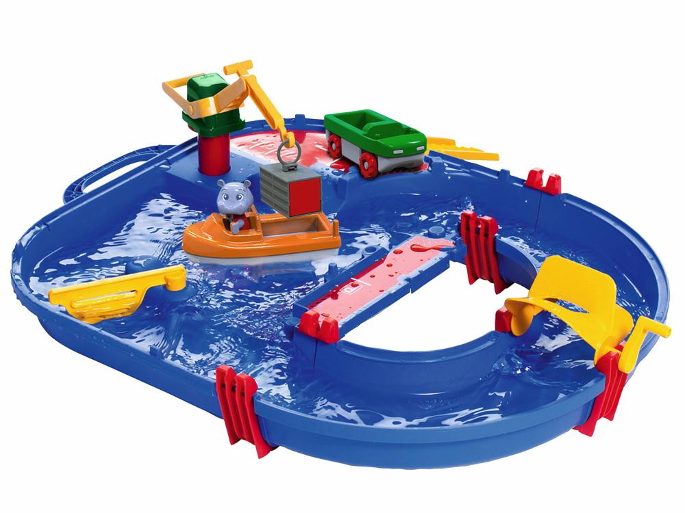 AquaPlay Outdoor Wasser Spielzeug Wasserbahn StartSet 8700001501
