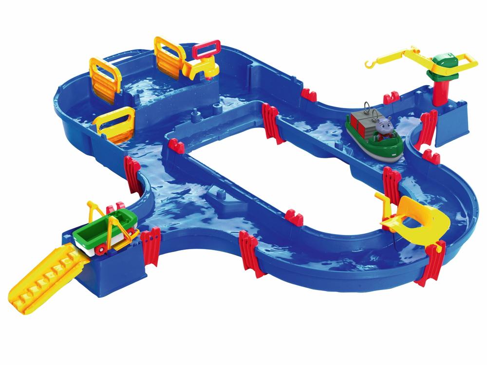 AquaPlay Outdoor Wasser Spielzeug Wasserbahn SuperSet 8700001520